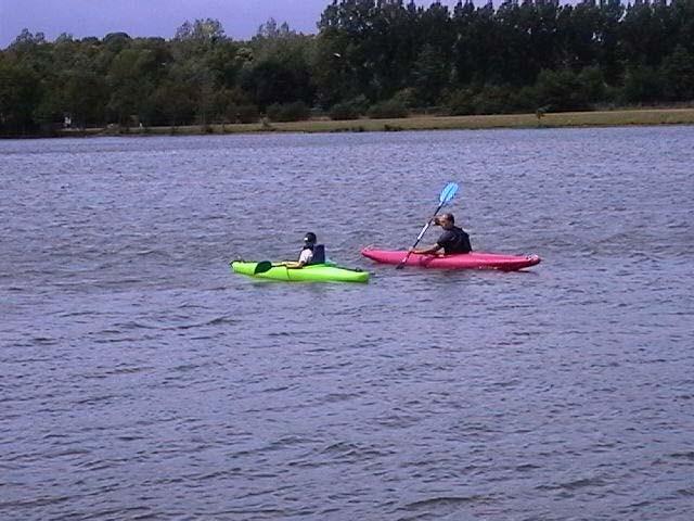 Initiation au Kayak